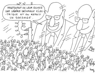 konk,dessin,sondages,manipulation,peuple