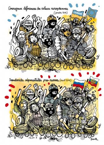 dessin,plantu,ukraine,propagande,europe