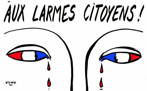 paris,attentats,bougies,je suis,inaction,hommages,larmes,pleurs,dessin,gauche,laxiste,faiblesse,guerre