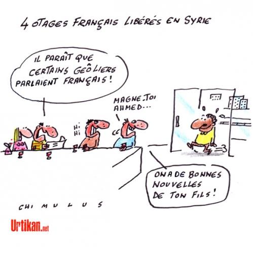 dessin,chimulus,français,otages,syrie,djihadistes