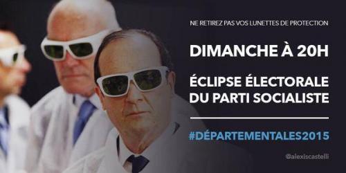 hollande,eclipse,ps,elections,departementales