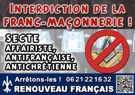 tract,franc-maconnerie,renouveau,secte,interdiction