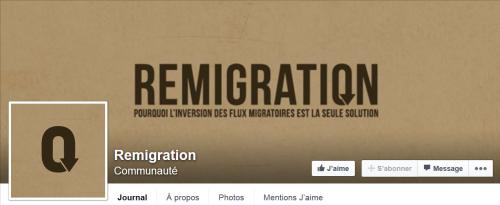 remigration,facebook,site,immigration,retour,immigrés,chez eux