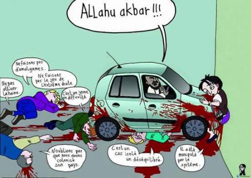 attentat,nice,dessin,propagande