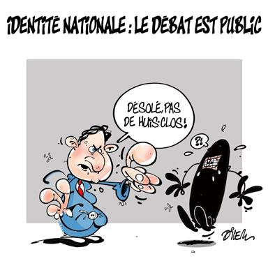 dilem,dessin,identité,nationale,française,burqa,islam