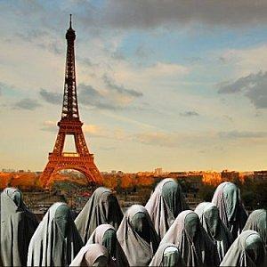 burqa,france,immigration,eiffel