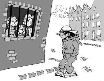 dessin,racailles,maghrébins,racisme anti-blanc,la france aux français