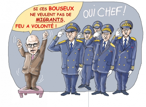clandestins,migrants,cazeneuve,invasion migratoire,immigrés