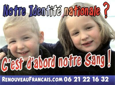 tract,identité française,renouveau