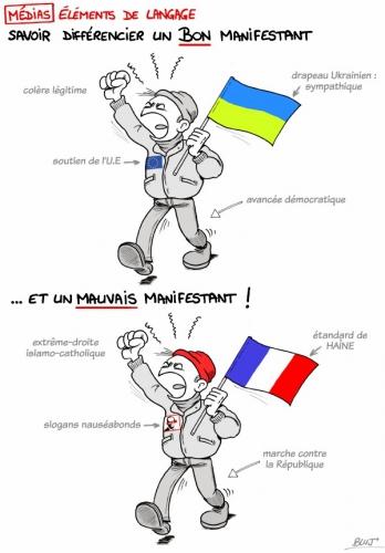 dessin,bluj,nationaliste,ukraine,médias,propagande