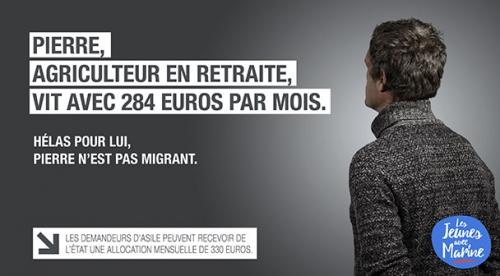 fn, tract,campagne,anti-migrants,immigration,préférence nationale,les nôtres avant les autres