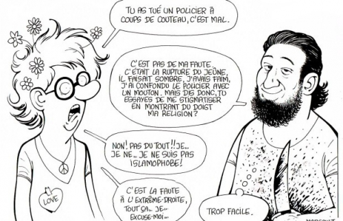 marsault,dessin,magnanville,islam,terrorisme,guerre civile,politiquement correct