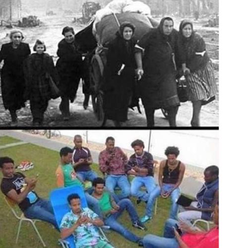 réfugiés-exode-1940-envahisseurs-migrants-clandestins-2016