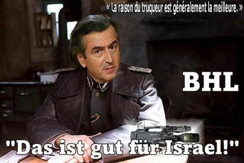 bhl,das ist gut fur israel,sionisme,syrie,anti-assad
