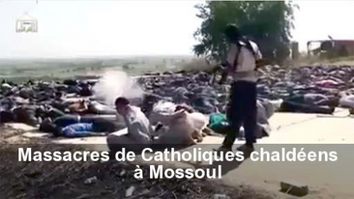 mossoul,ei,isis,daech,massacre,chrétiens,chaldéens,irak