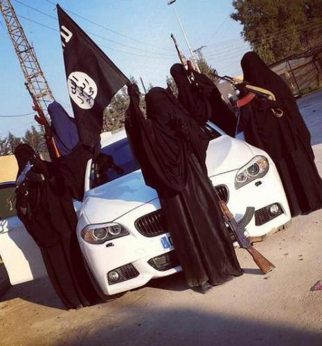 syrie,ei,djihad,djihadistes,france,francais,voile,islamistes,raqqa
