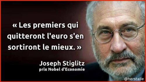 euro,marine le pen,joseph stiglitz,prix nobel économie,retour au franc,double monnaie,monnaie commune