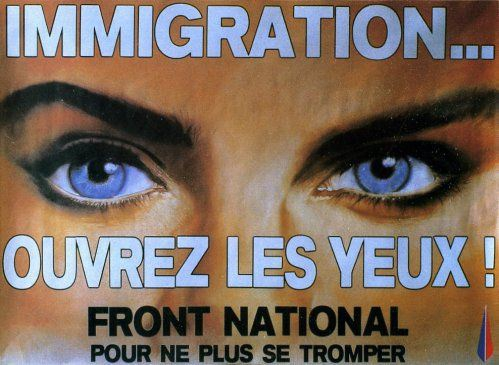 fn,tract,immigration,front national,peuple,invasion,ouvrez,yeux