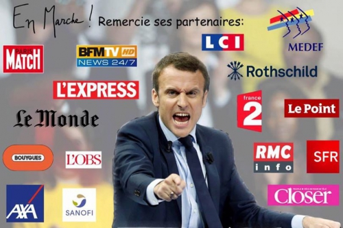 macron,systeme mediatique,medias,bfm,bfmacron,drahi,finance,rothschild
