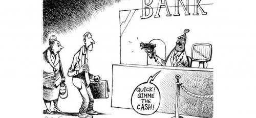 dessin,banksters,chypre,saisie,compte courant,banques,voleurs,faillite